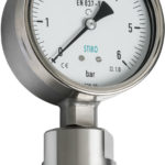 pressure gauge with mini seal