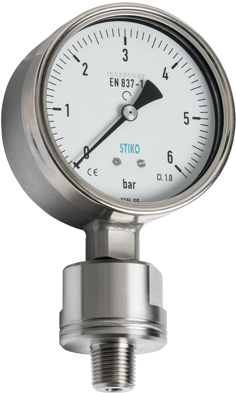 Pressure Gauges With Chemical Seal Bull Stiko