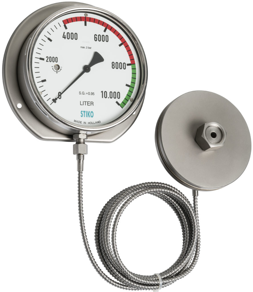 tank-level gauge