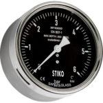 compensated subsea pressure gauge