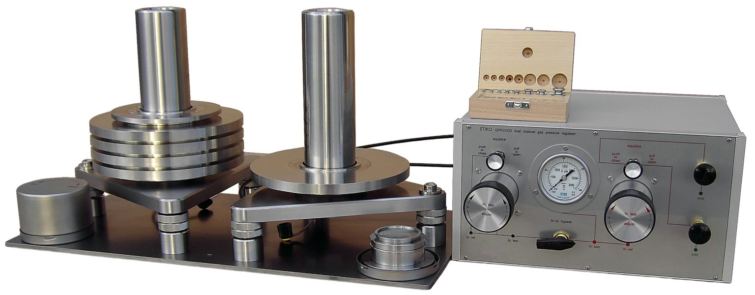 gas operated differential deadweight tester